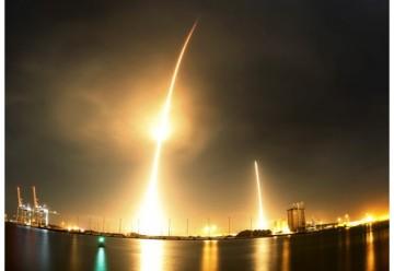 François Auque, directeur général du pôle Space Systems d'Airbus Group, estime que le potentiel commercial des lanceurs spatiaux récupérables, expérimentés par l'américain SpaceX, sera difficile à trouver en Europe. /Photo d'archives/REUTERS/Mike Brown